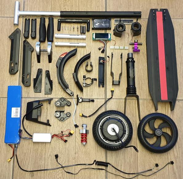 запчасти для ремонта электросамоката